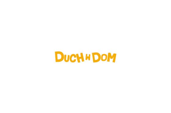 projekt logo serialu duch w dom
