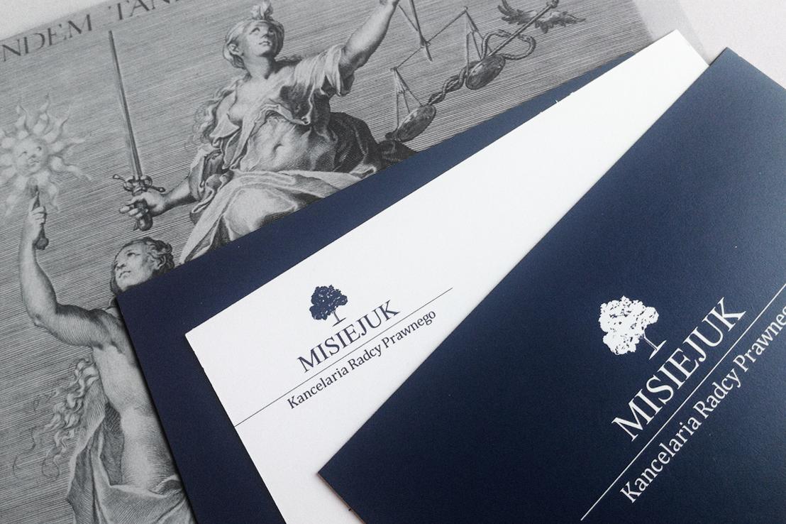 projekt wizytówek dla radcy prawnego
