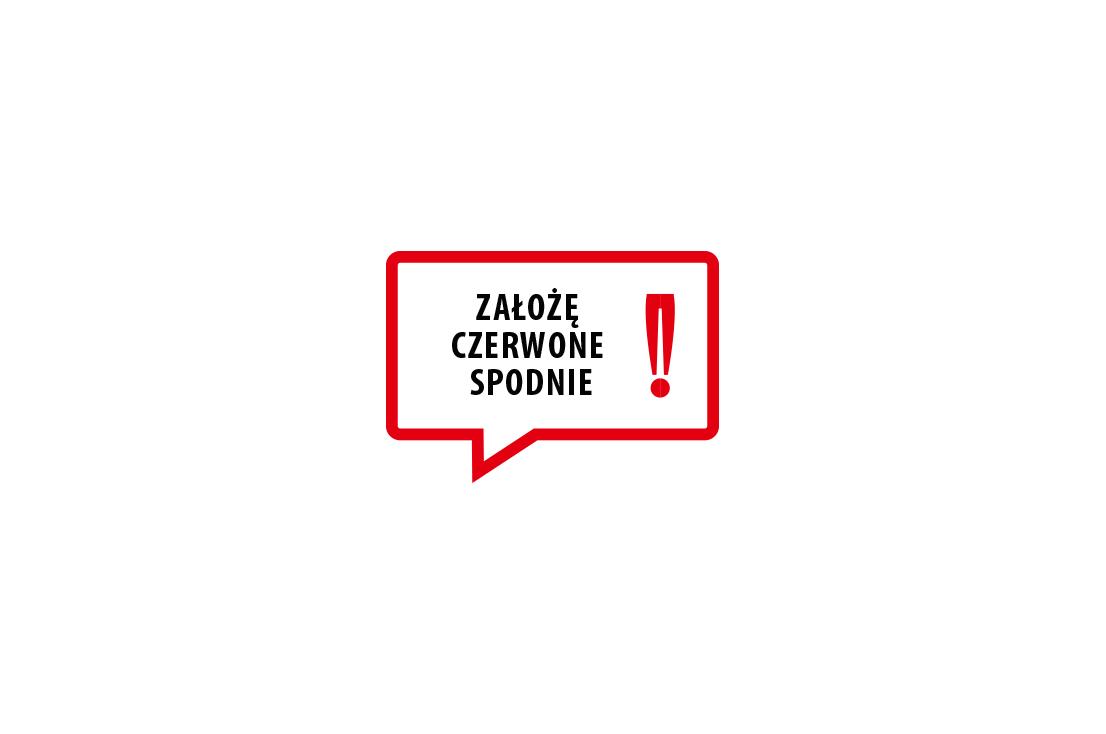 Logo Założę Czerwone Spodnie